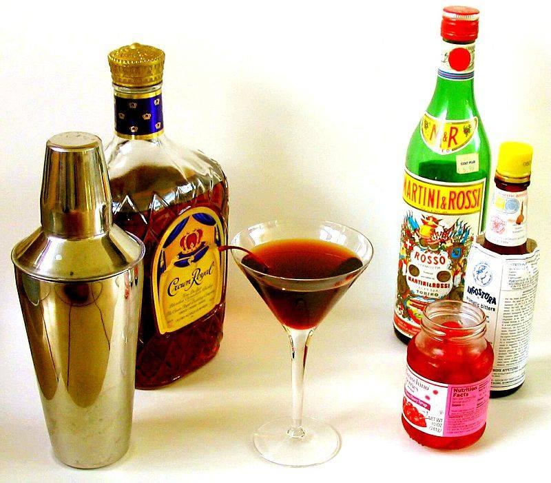 Manhattan Cocktails by H. Pierce
