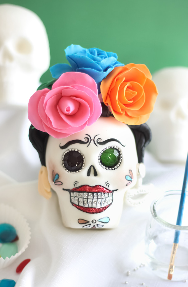 Sugar Skulls Frida Kahlo SprinkleBakes 4