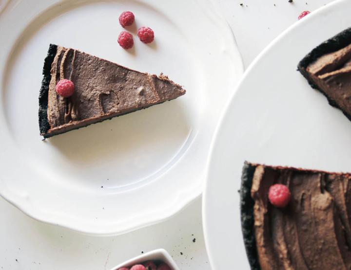 Tartë Me Krem Çokollate Pa Pjekje