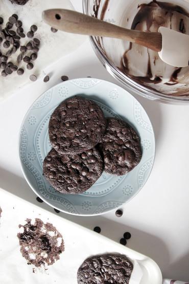 Biskota Pa Gluten Me Çokollatë Të Zezë