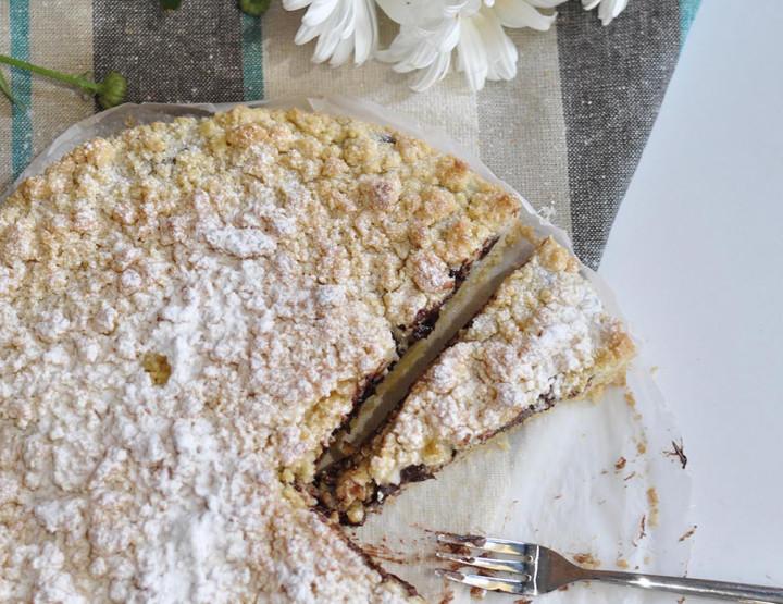 Tortë Italiane me Rikota dhe Çokollatë të Zezë