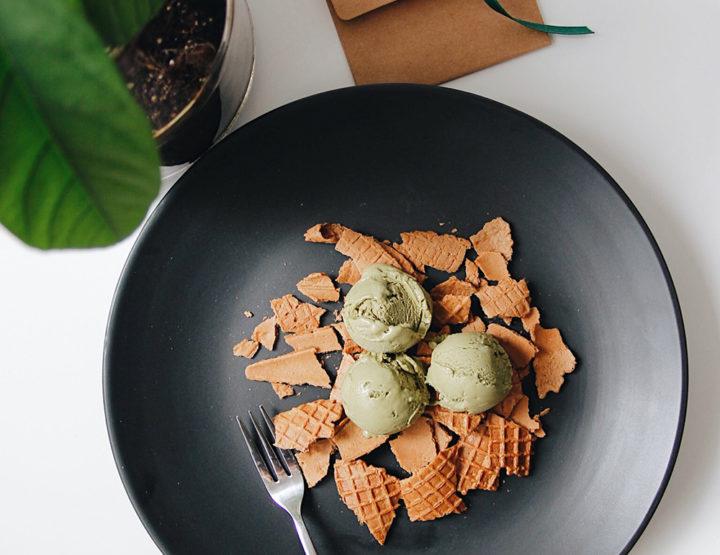 Akullore Artizanale Me Çaj Jeshil (Matcha)