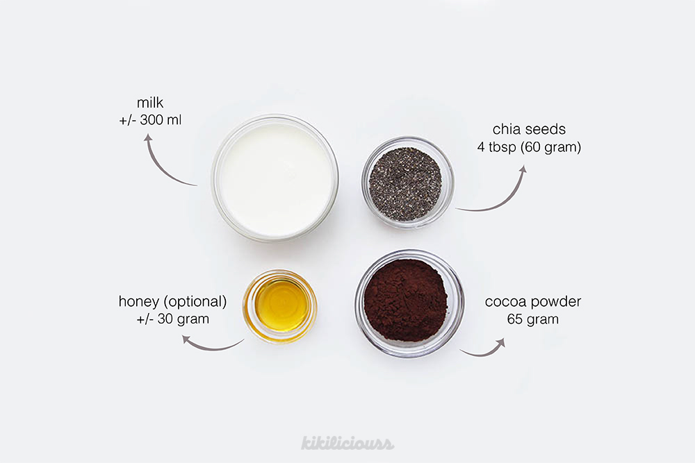 Chocolate Chia Pudding 7