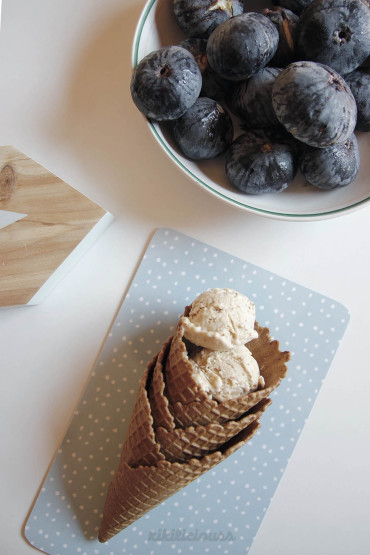 4 Ingredients Fresh Fig Ice Cream