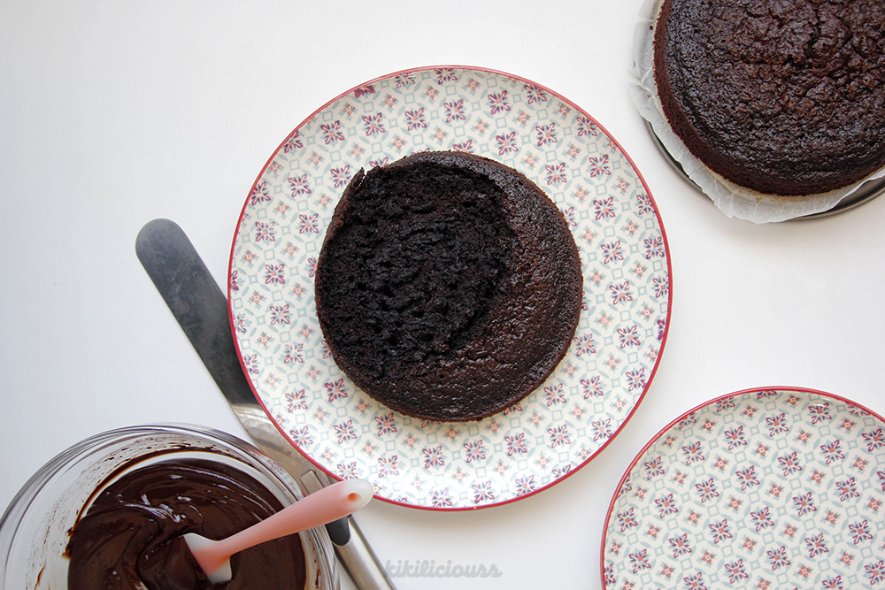 Double Chocolate Cake 13