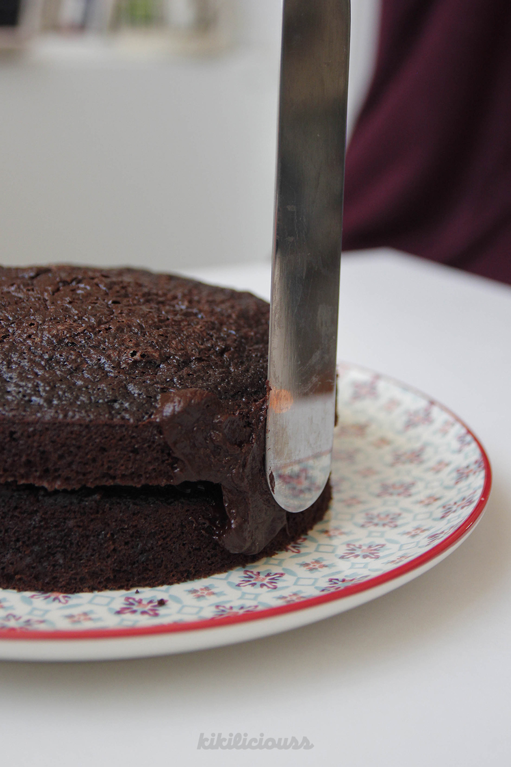 Double Chocolate Cake 17