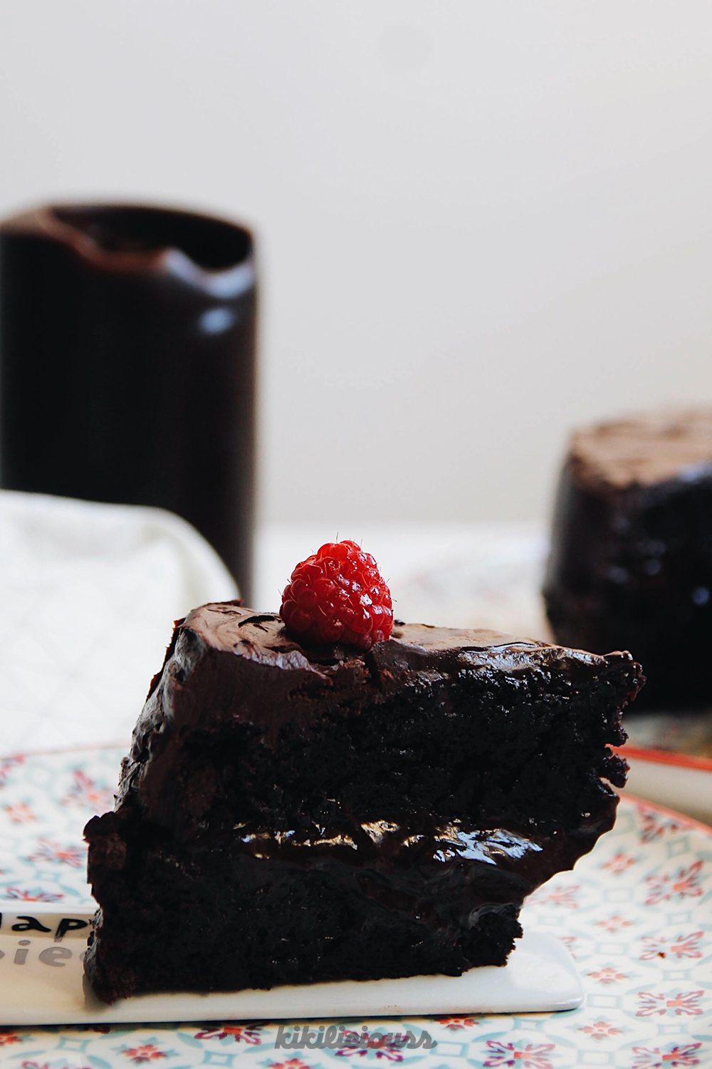 Double Chocolate Cake 6