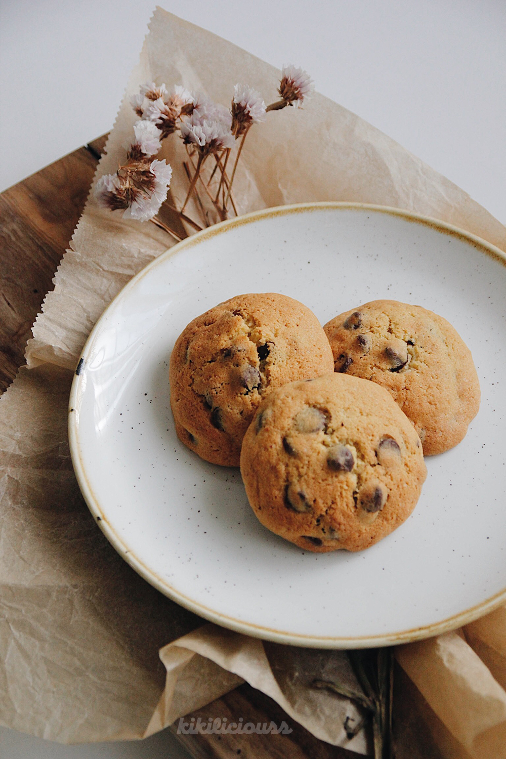 Cakey Chocolate Chips Cookies 3