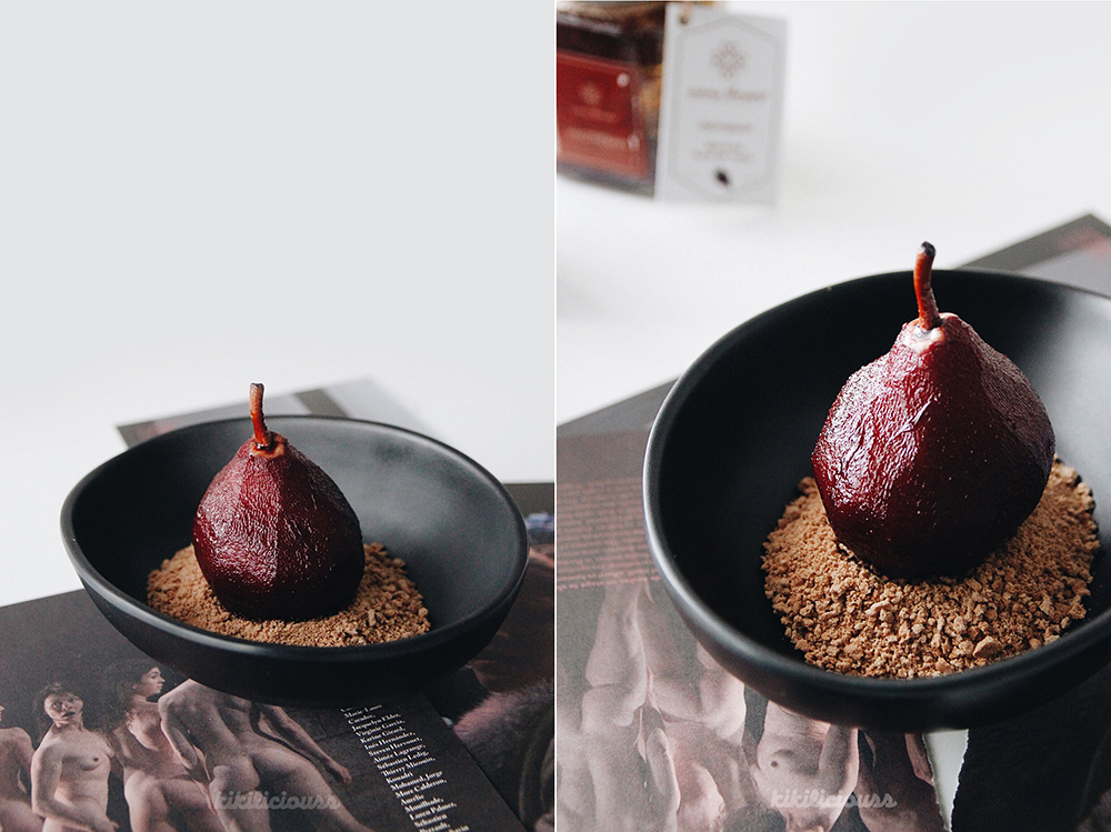 Red Wine Poached Pears 3