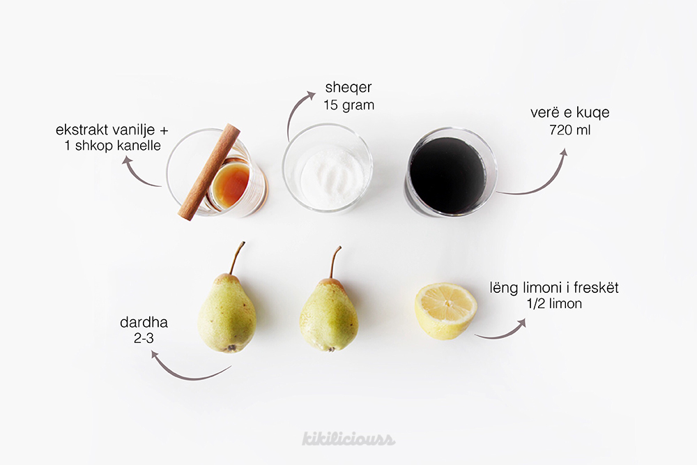 Red Wine Poached Pears 4